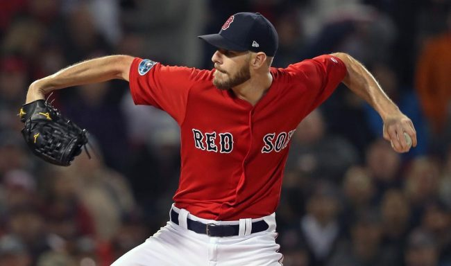 Chris Sale released from hospital, cleared to rejoin Red Sox