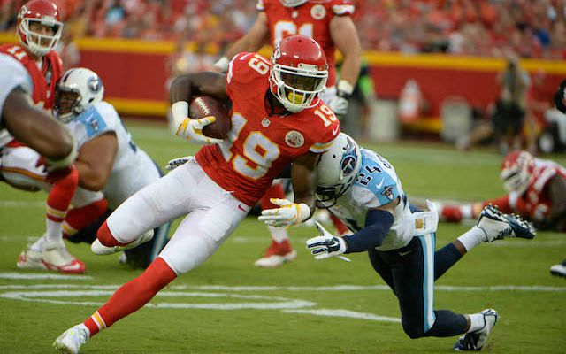 Spencer Ware (hamstring) out for Kansas City in Week 16