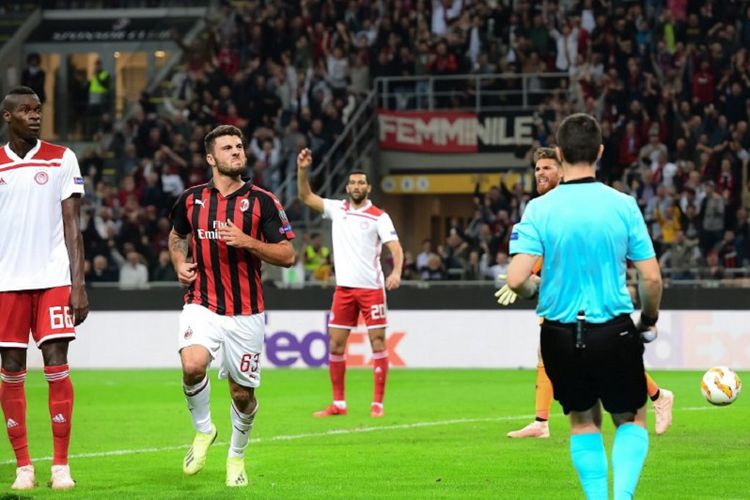 On Thursday Night In Piraeus Near Athens Olympiakos Will Host An European Giant That Has Lost Some Of Its Glitter In Recent Years In The Face Of Ac Milan