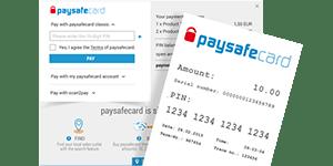 Prepaid Cards - Paysafecard