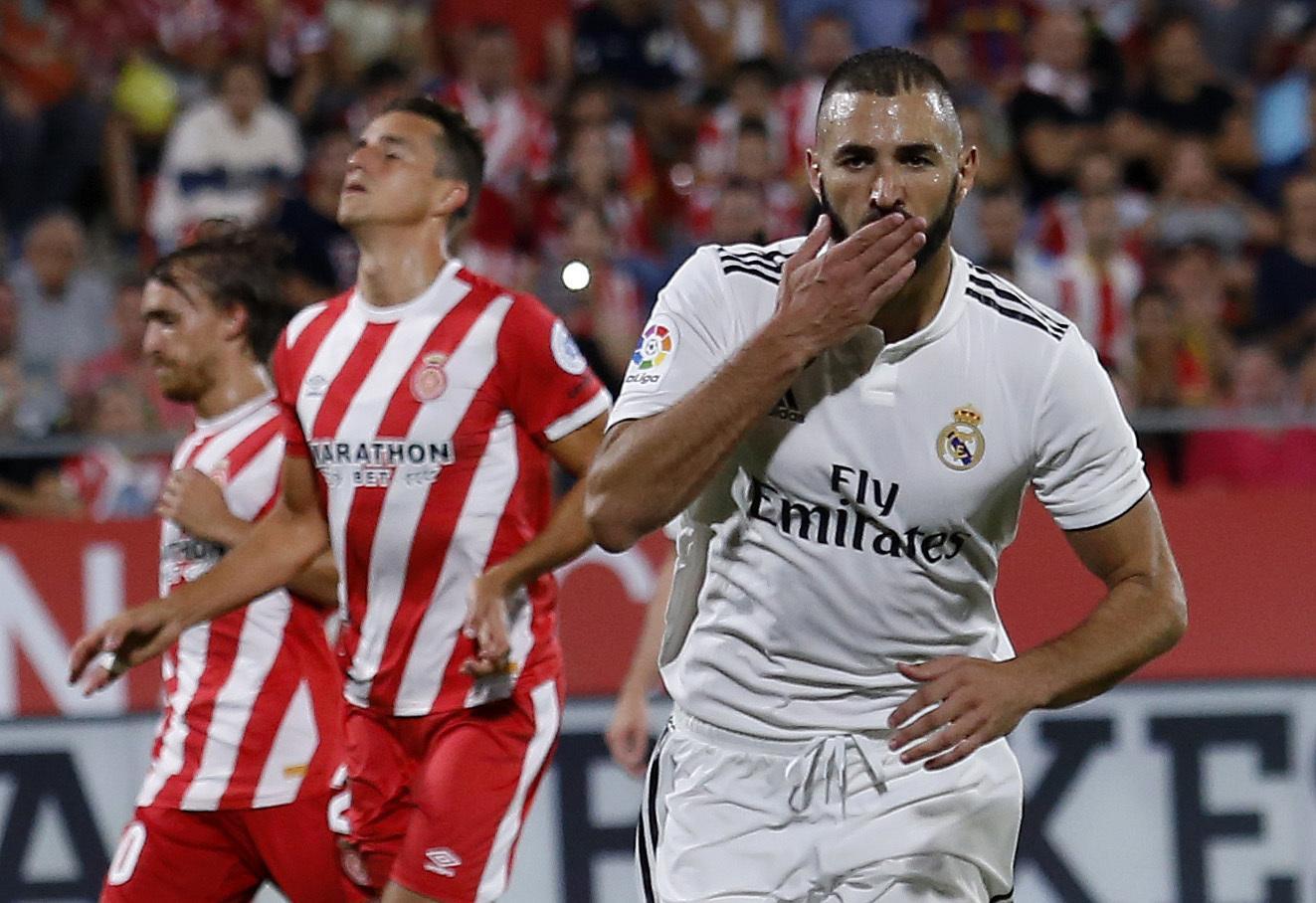 Hasil gambar untuk Real Madrid vs Girona