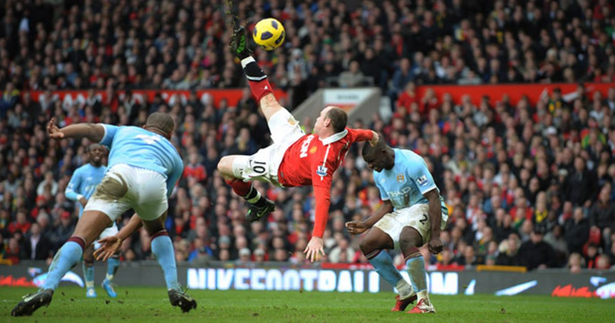 Wayne Rooney's Best Goals for Manchester United