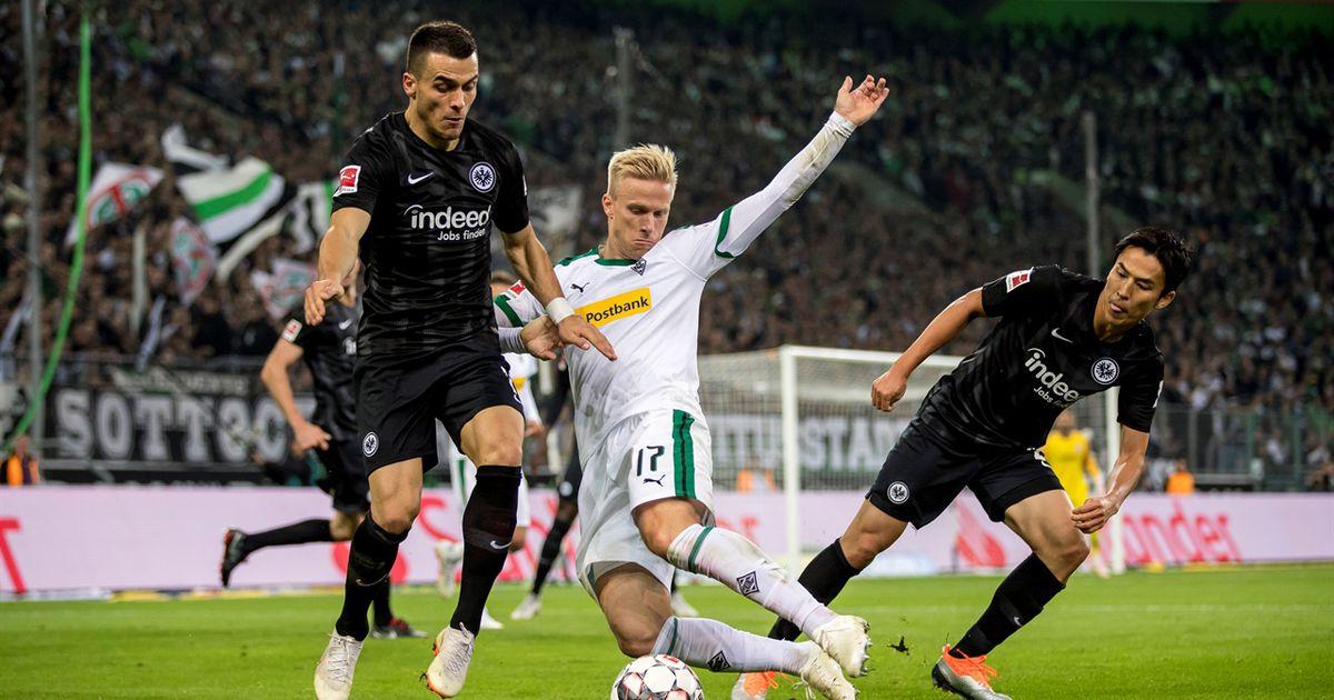 Borussia Mönchengladbach Vs Eintracht Frankfurt