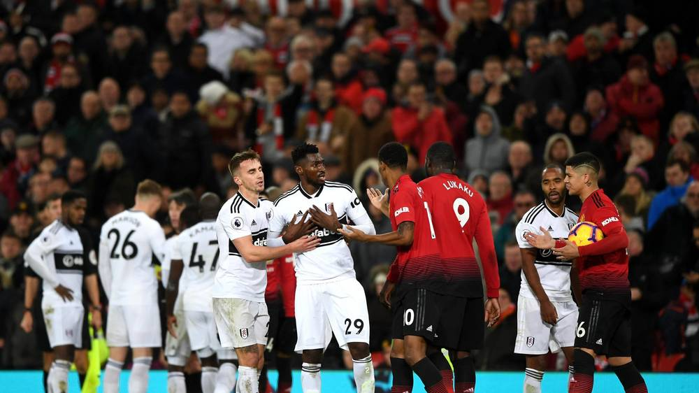 Image result for fulham vs manchester united