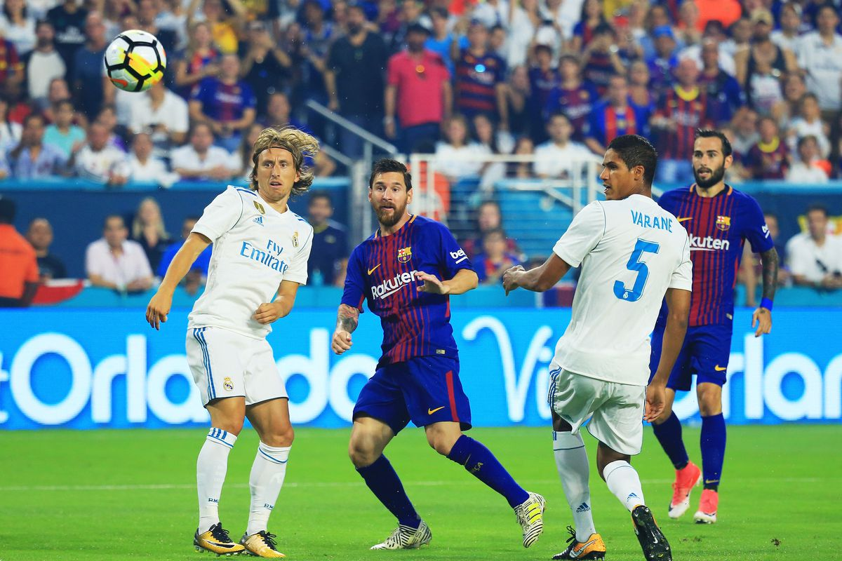 a84224bd7d1e0 Real Madrid and Barcelona will meet for the second leg of their 1 2 final  of Copa Del Rey on Wednesday. The first game in Barcelona saw Real Madrid  taking ...