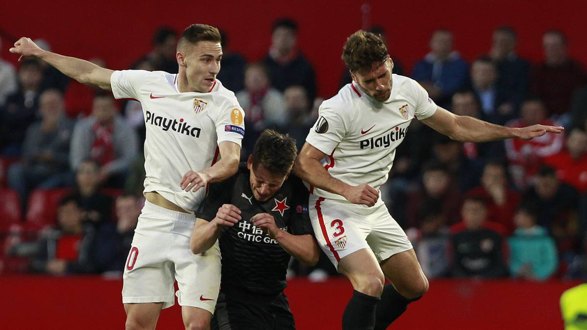 Slavia Will Welcome Sevilla To Prague On Thursday For The Second Leg Of Their  Final Tie In Europa League The First Game Ended In  Draw And The Teams