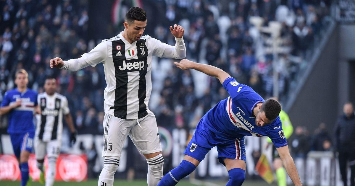 Hasil gambar untuk juventus vs sampdoria