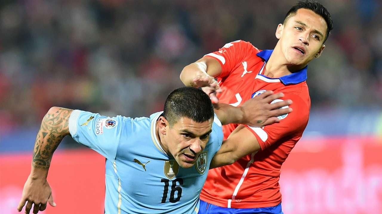 ผลการค้นหารูปภาพสำหรับ Chile vs Uruguay