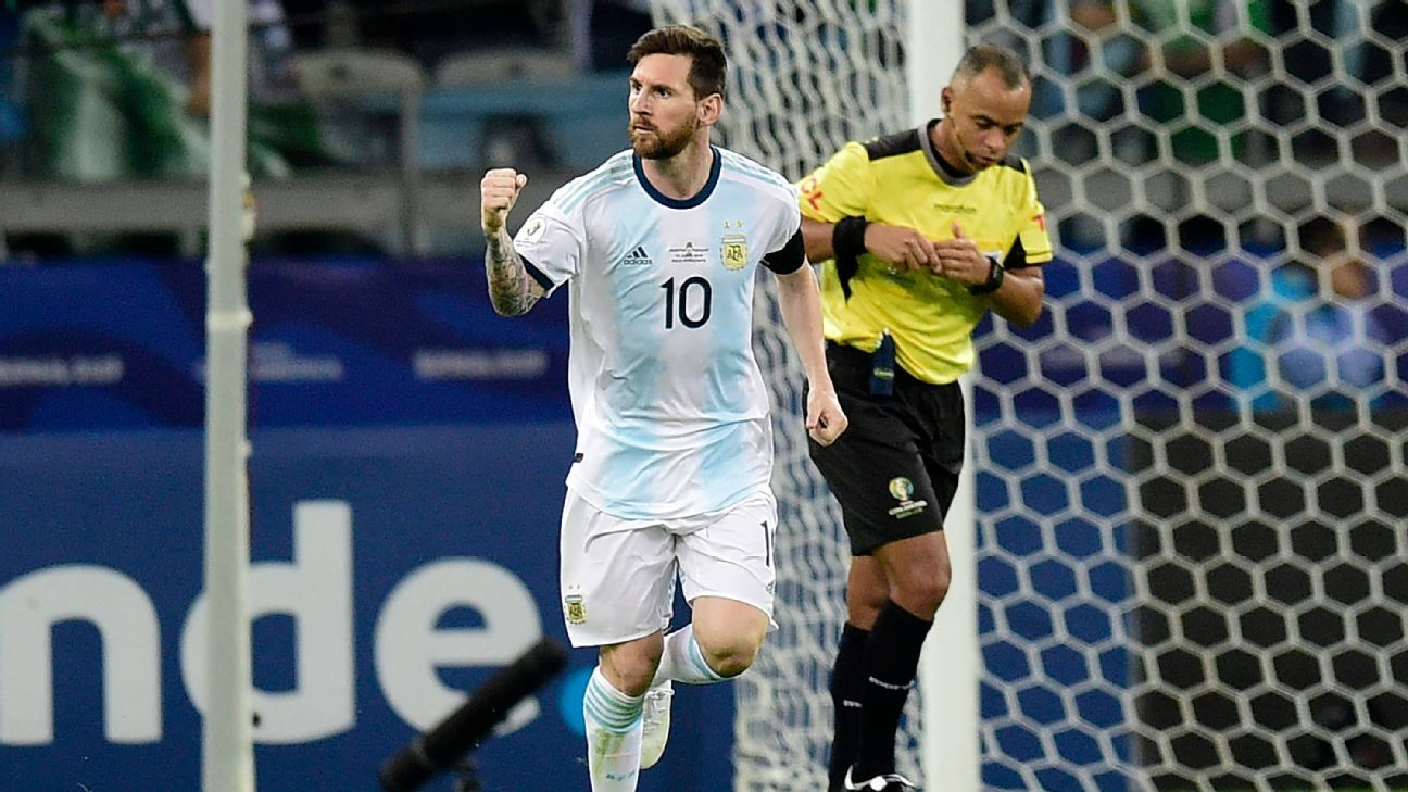 Argentina And Qatar Will Meet On Sunday For Their Third Games Of The Group Stage Of Copa America  Surprisingly The Argentinias Are On The Last Th