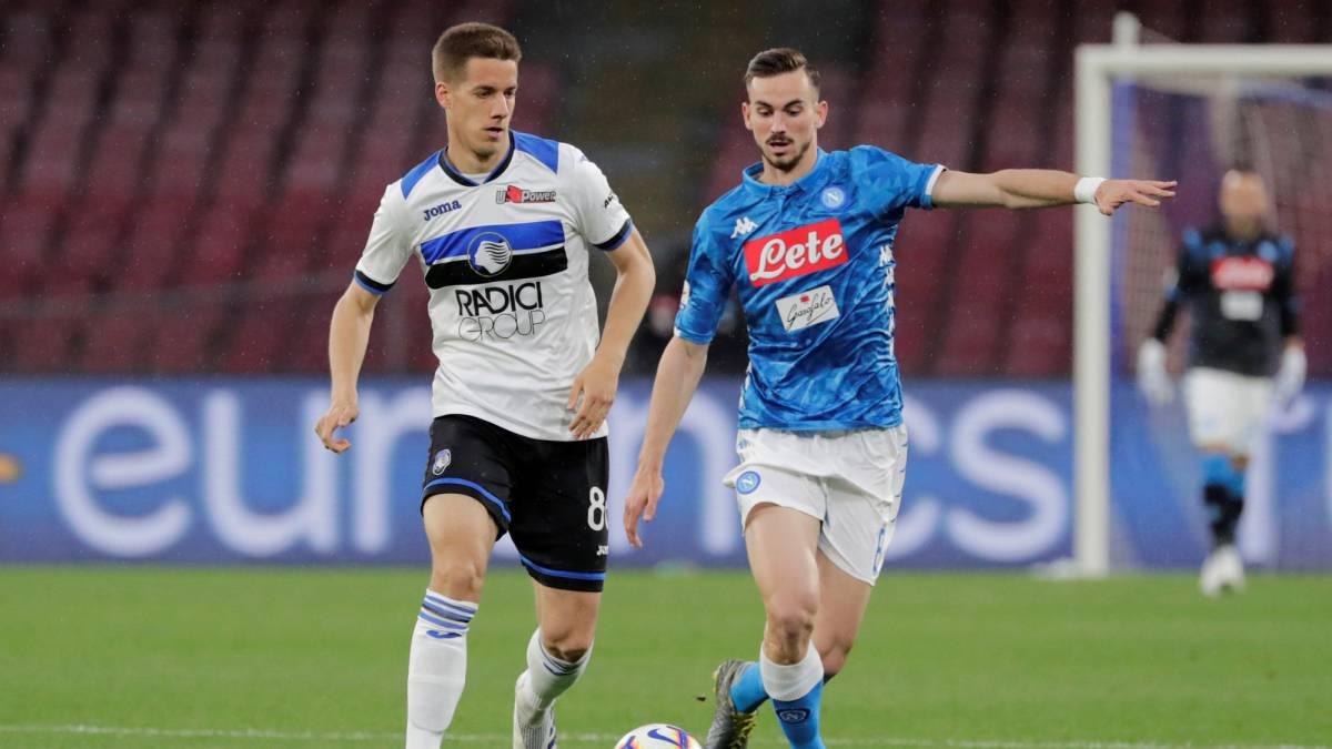 Atalanta vs. Napoli Odds, Picks: Betting Predictions for ...   Napoli- Atalanta