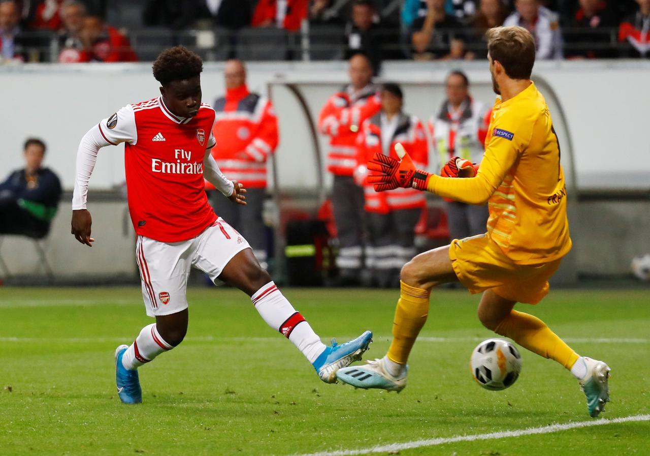 Arsenal Eintracht Frankfurt