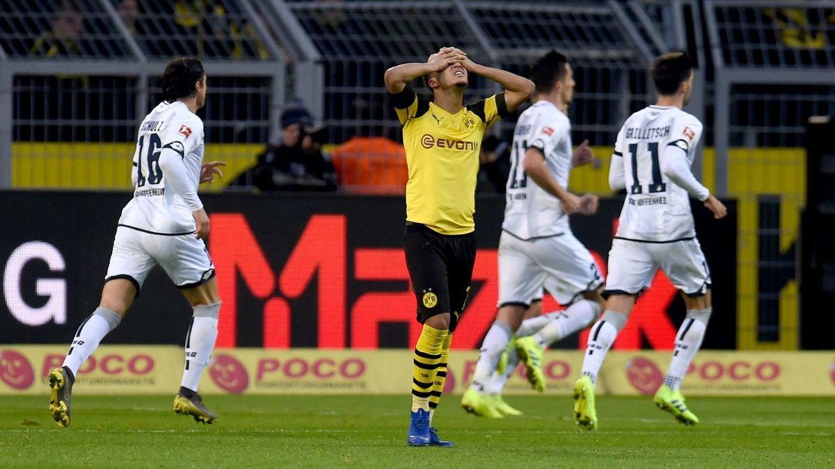 Hoffenheim Vs Dortmund