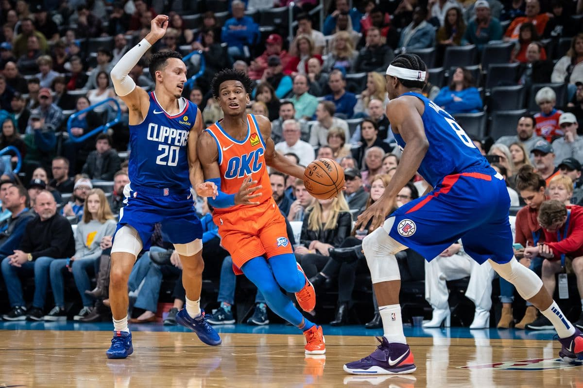 Los Angeles Clippers at Oklahoma City Thunder Preview, Tips and Odds