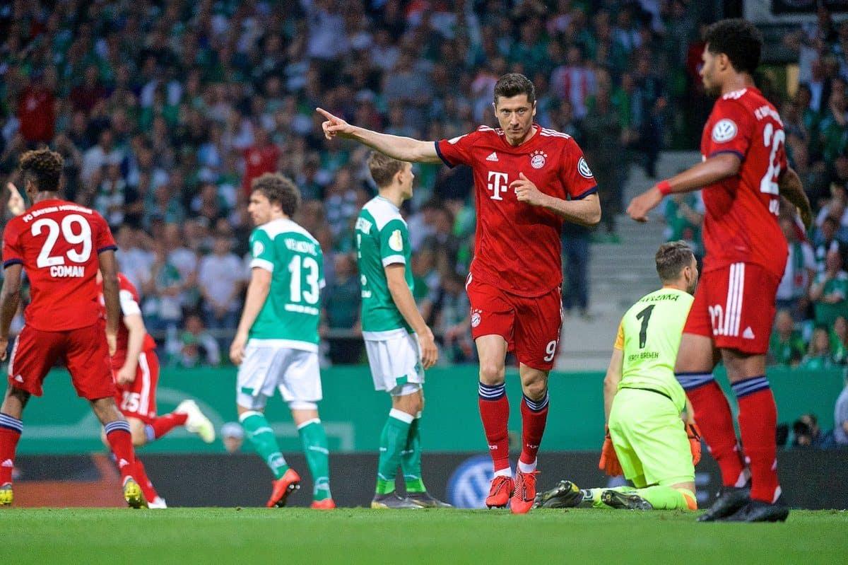 Bayern München Vs Werder Bremen