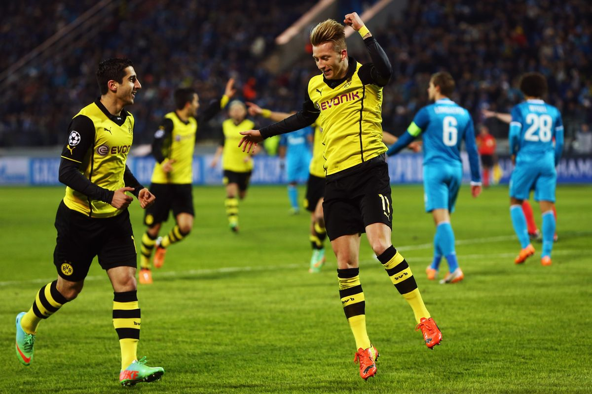 Borussia Dortmund Vs Zenit Preview Tips And Odds